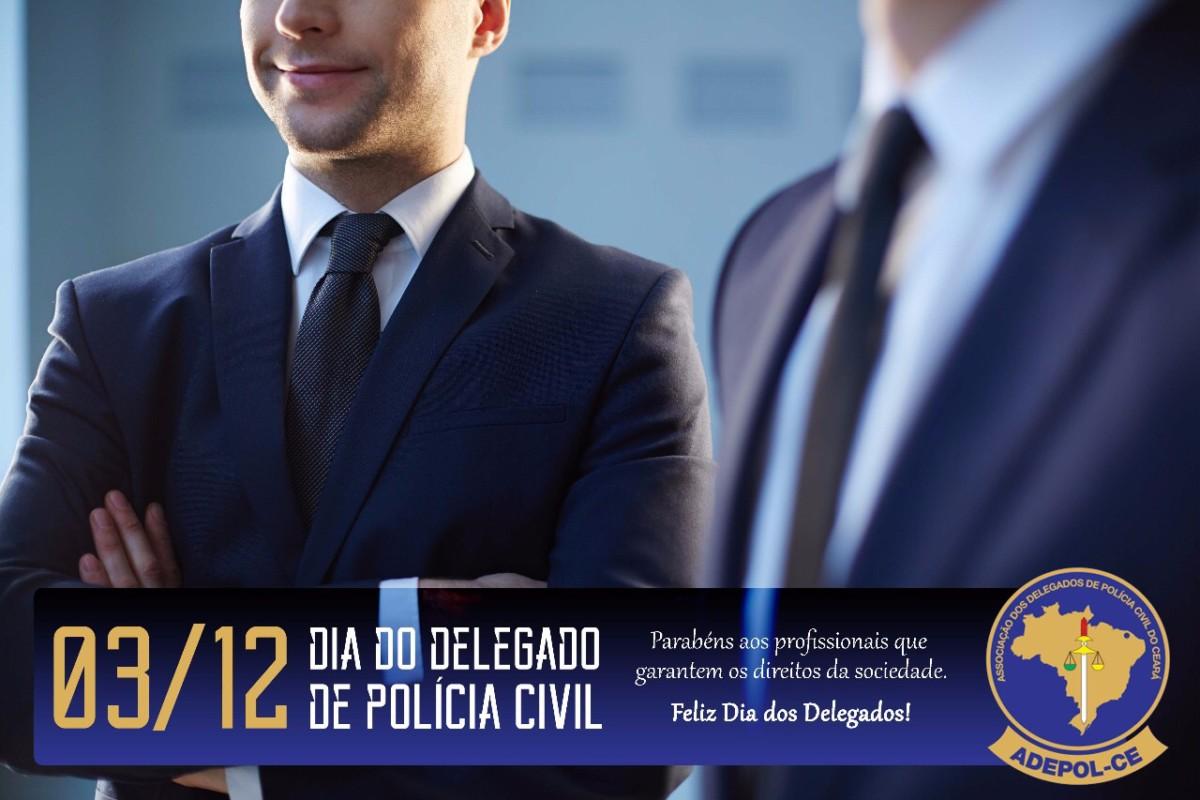 Feliz Dia do Delegado