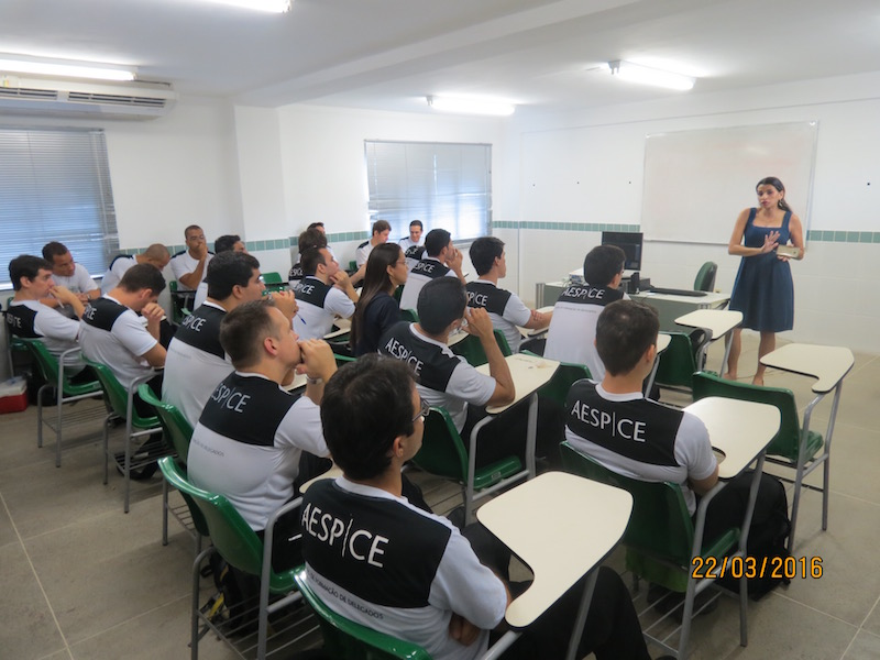 Adepol Ceará na Academia Estadual de Segurança Pública do Estado (AESP-CE)