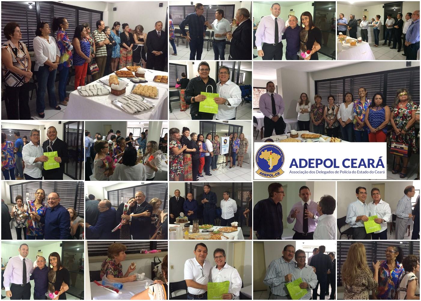 Adepol realiza café da manhã com aniversariantes dos meses de março e abril