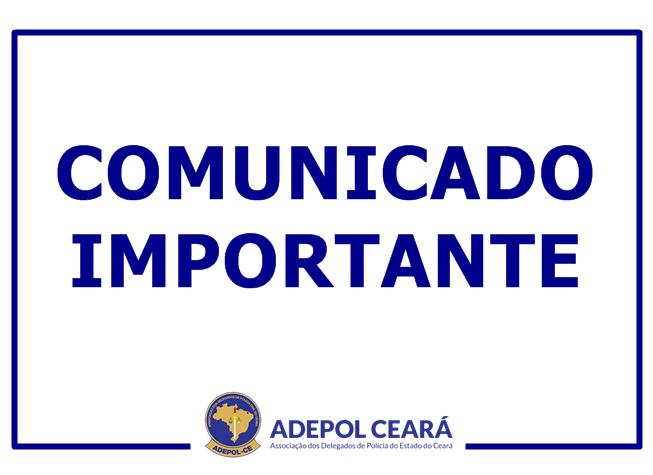 Adepol/CE lança nota de apoio ao Delegado Aristóteles Tavares