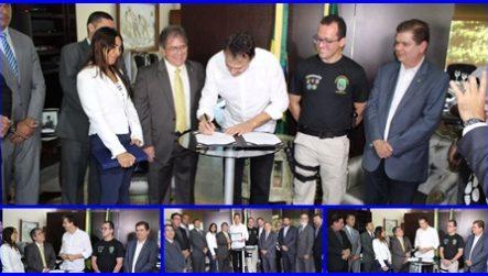Governador Camilo Santana assina mensagem que reinclui o cargo de Delegado de Polícia Civil na Carreira Jurídica
