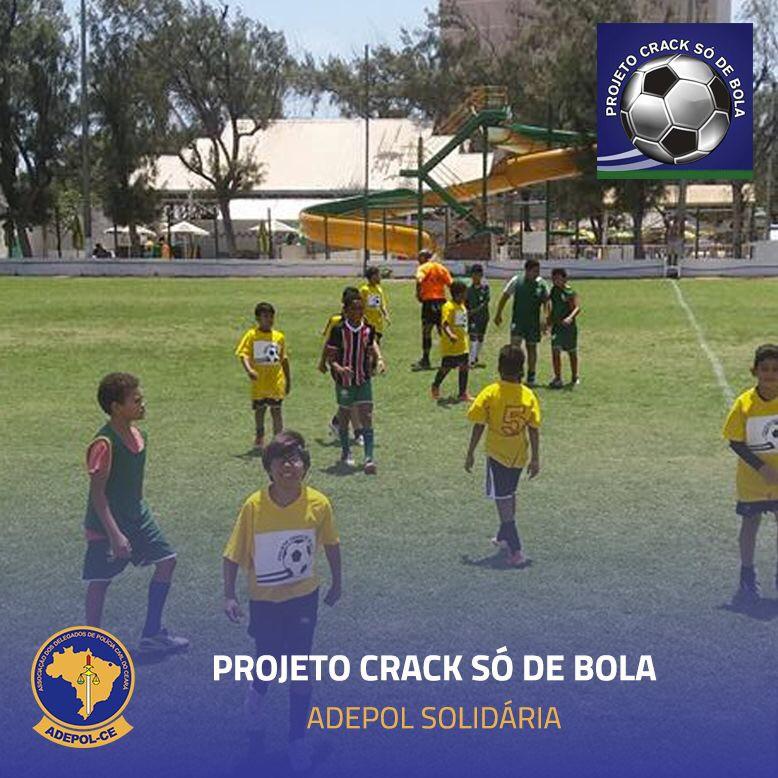 """Adepol/CE receberá brinquedos para festa das crianças do """"Projeto Crack só de bola"""""""