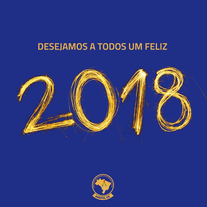 Adepol/CE deseja Feliz Ano Novo