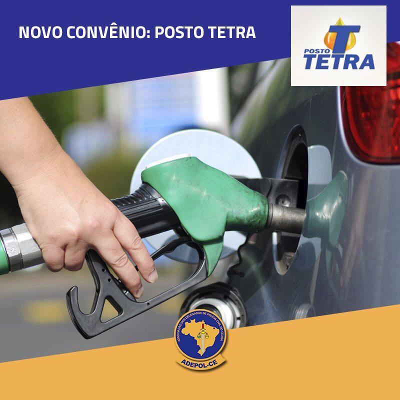 Adepol/CE firma convênio com posto de combustíveis