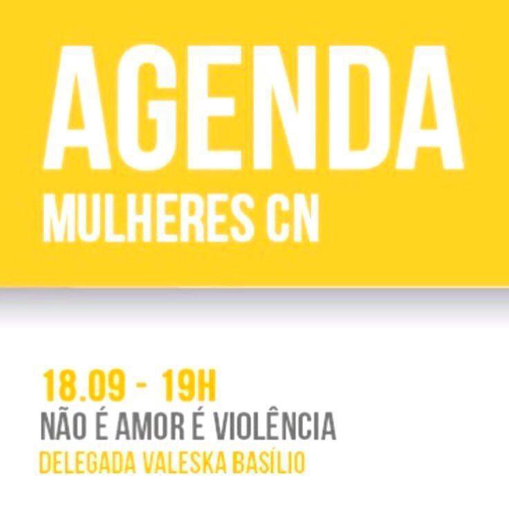 "Delegada Valeska Basílio apresentará a palestra ""NÃO É AMOR É VIOLÊNCIA"""