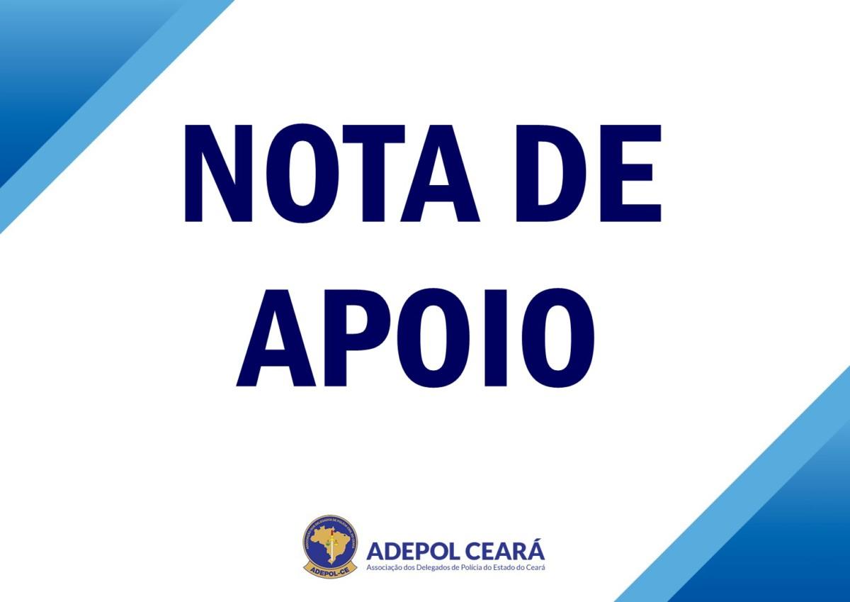 Nota de apoio público à Delegada de Polícia Civil Patrícia Aragão