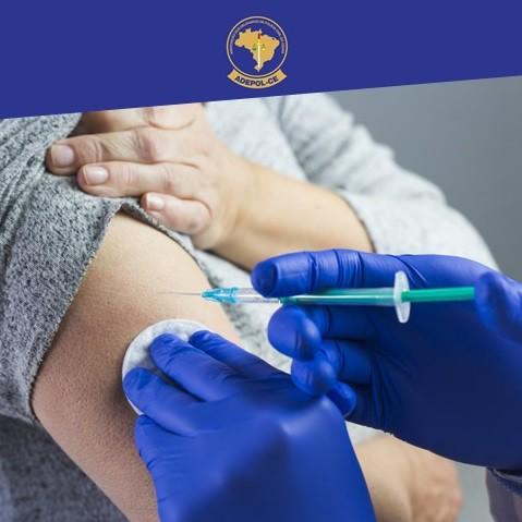 DAMPS realiza vacinação contra H1N1 em policiais civis