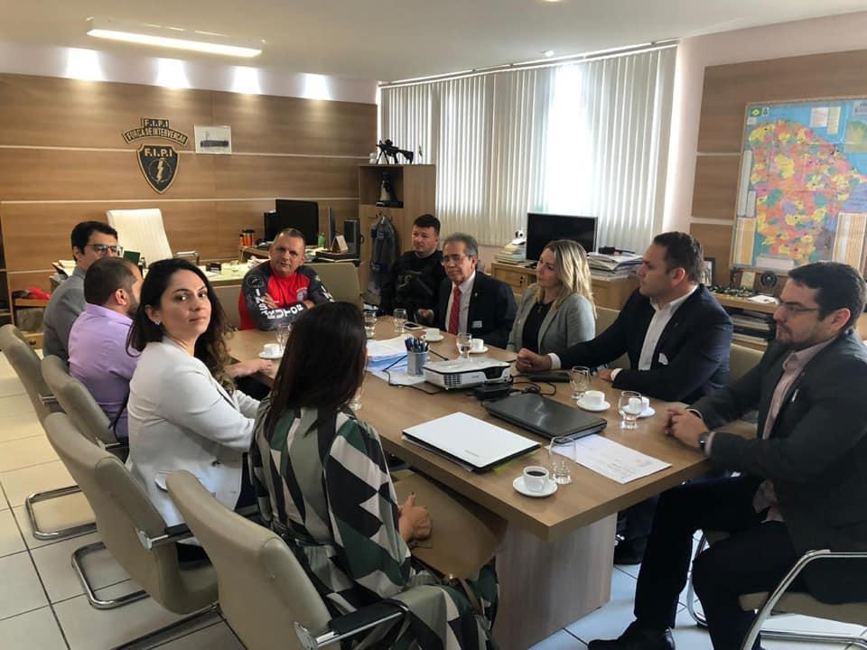 Adepol/CE se reúne com Secretário de Administração Penitenciária