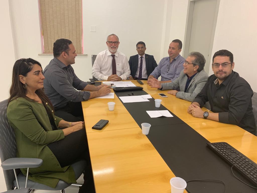 Adepol/CE se reúne com cúpula da Polícia Civil