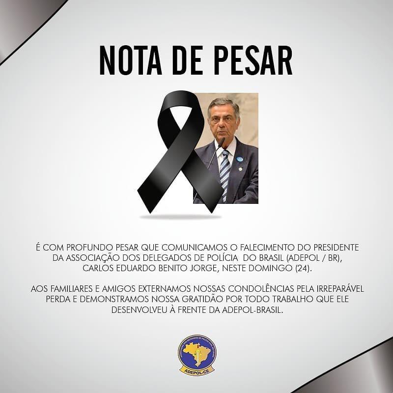 Nota de Pesar: Carlos Eduardo Benito Jorge